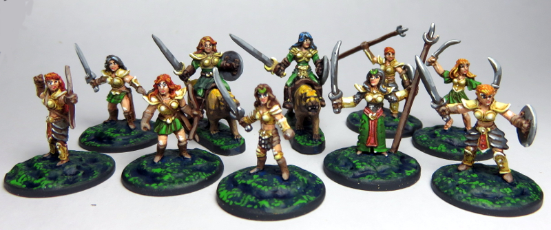 Amazon Sword Maidens