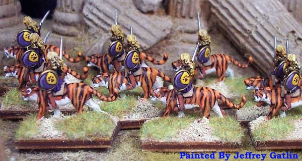 Armies of Arcana Amazon Panther Cavalry