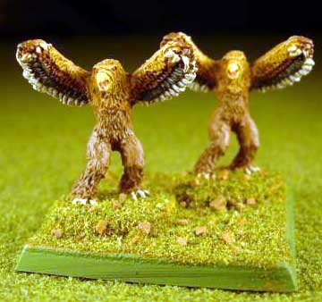 Armies of Arcana Painted Owlbears
